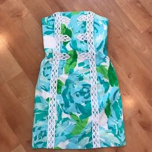 Lilly Pulitzer Blue First Impressions Dress